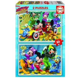PUZZLE INFANTIL 2X20 MICKEY...