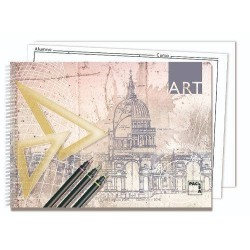 CUADERNO BLOCKS  DIBUJO ART...