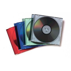 PACK 25 CAJAS CD/DVD SLIM...